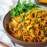 Bombay Carrot Salad With Cashews And Raisins – Salad Recipes Indian