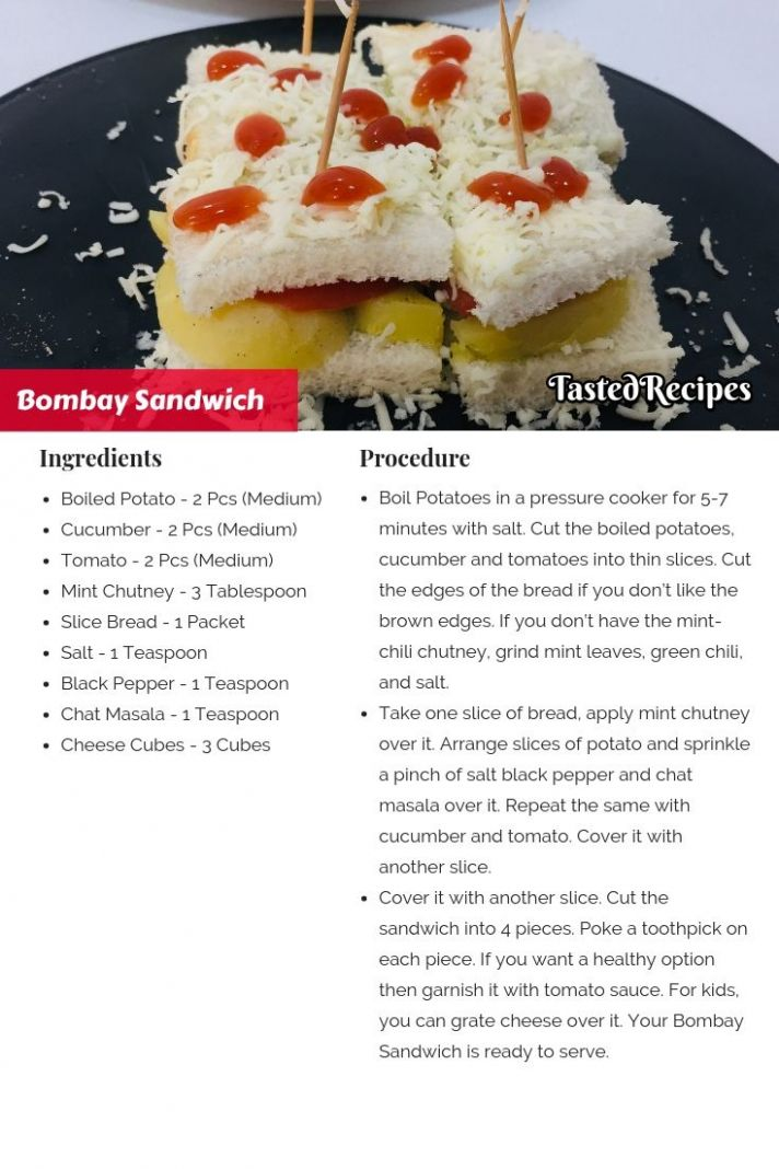 Bombay Veg Sandwich – Bombay Sandwich - Sandwich Recipes And Procedures
