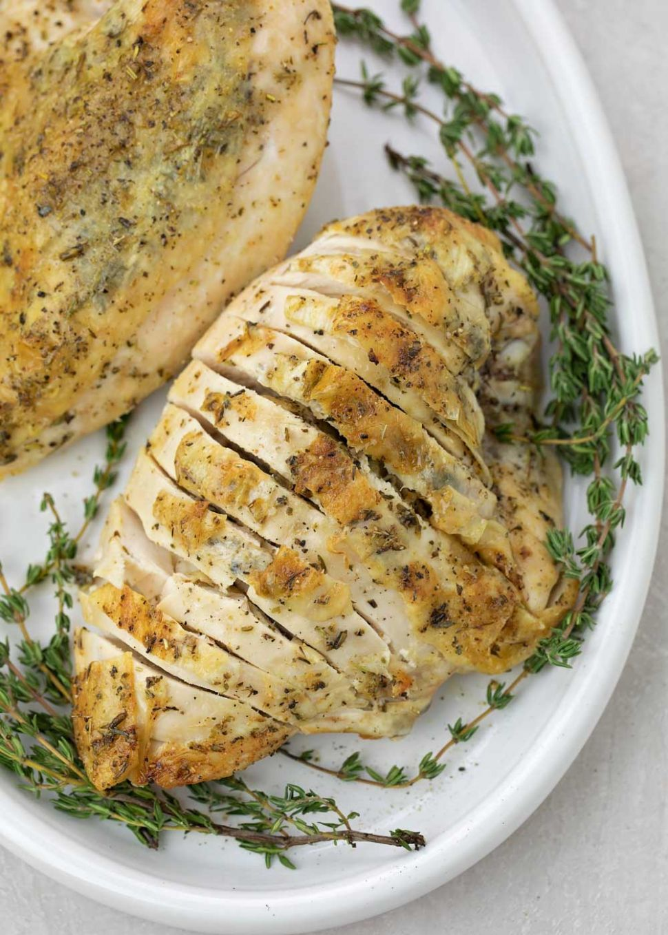 Bone-In Chicken or Turkey Breast - Recipes Chicken Breast On The Bone