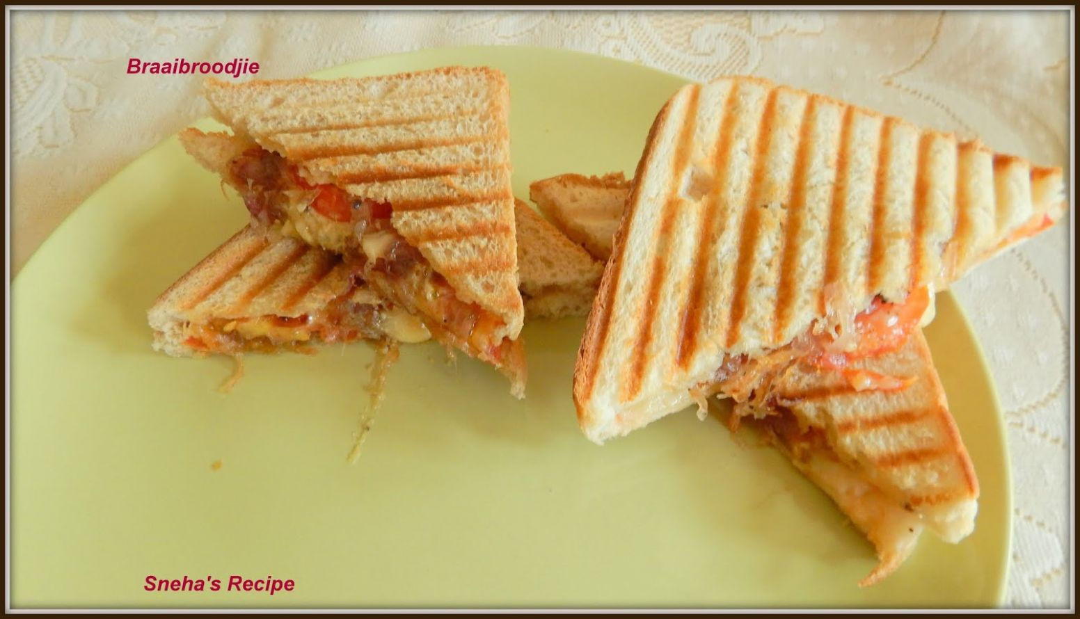 Braaibroodjie - Grilled Cheese Sandwich From South Africa ..
