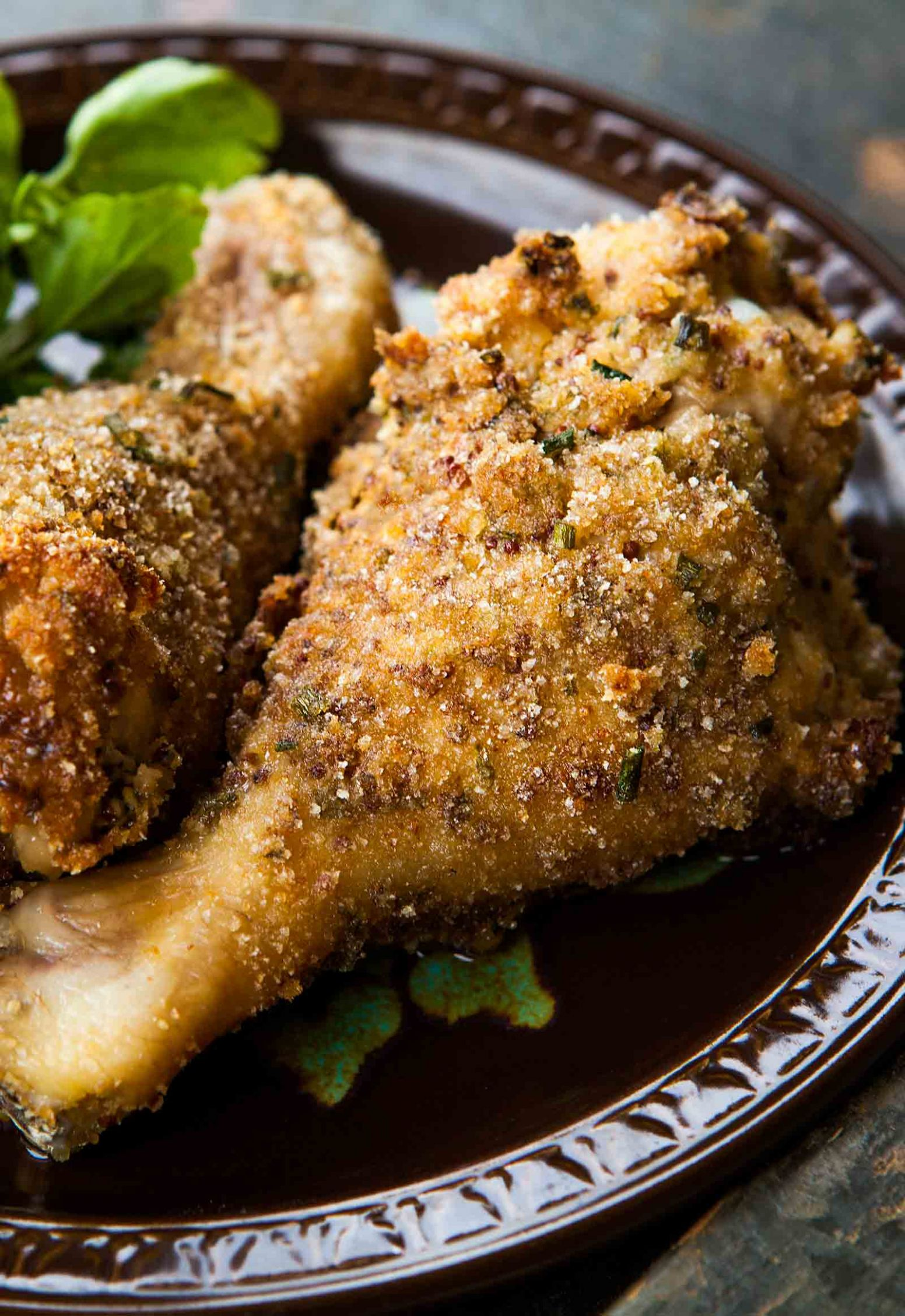 Breaded and Baked Chicken Drumsticks - Recipes Chicken Legs Oven