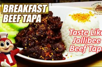 Breakfast Beef Tapa Jollibee Style | Panlasang Pinoy Meaty Recipes