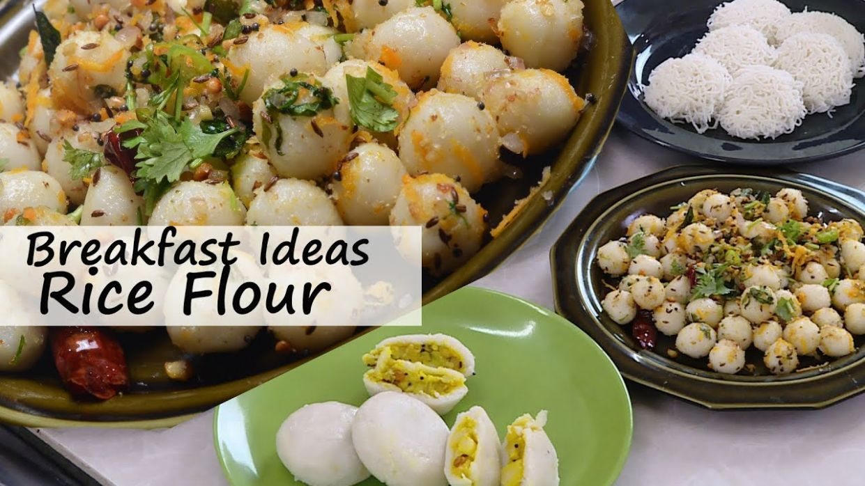 Breakfast Ideas 12 - With Rice Flour Four Types - Breakfast Recipes For  Everyday Cooking By Vahchef - Breakfast Recipes Rice Flour