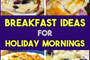 Breakfast Ideas: Easy Make Ahead Breakfast Ideas For a Crowd or ...