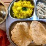 Breakfast Meal Plate: Karnataka Style Puri, Sagu And Filter Coffee ..