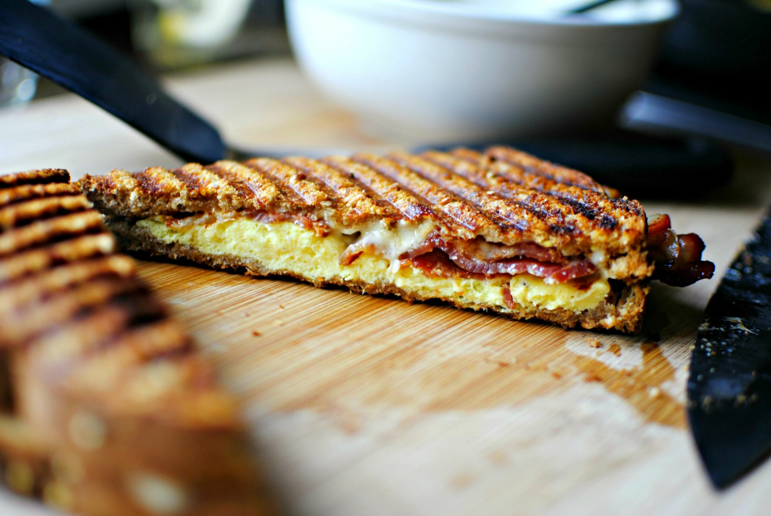 Breakfast Panini - Simply Scratch - Recipes Sandwich Press