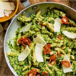 Broccoli Pesto Penne With Chilli And Garlic Sizzle – Recipes Vegetarian Meals