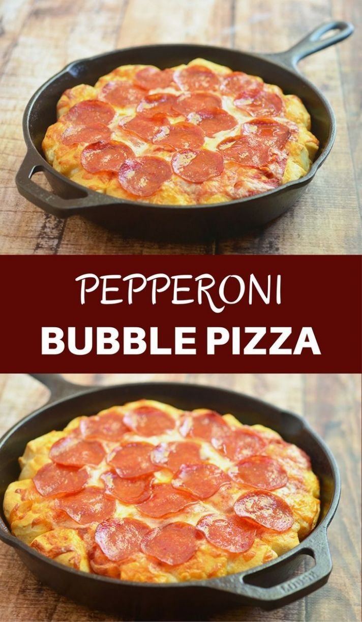 Bubble Pizza - All Recipes Quick Pizza