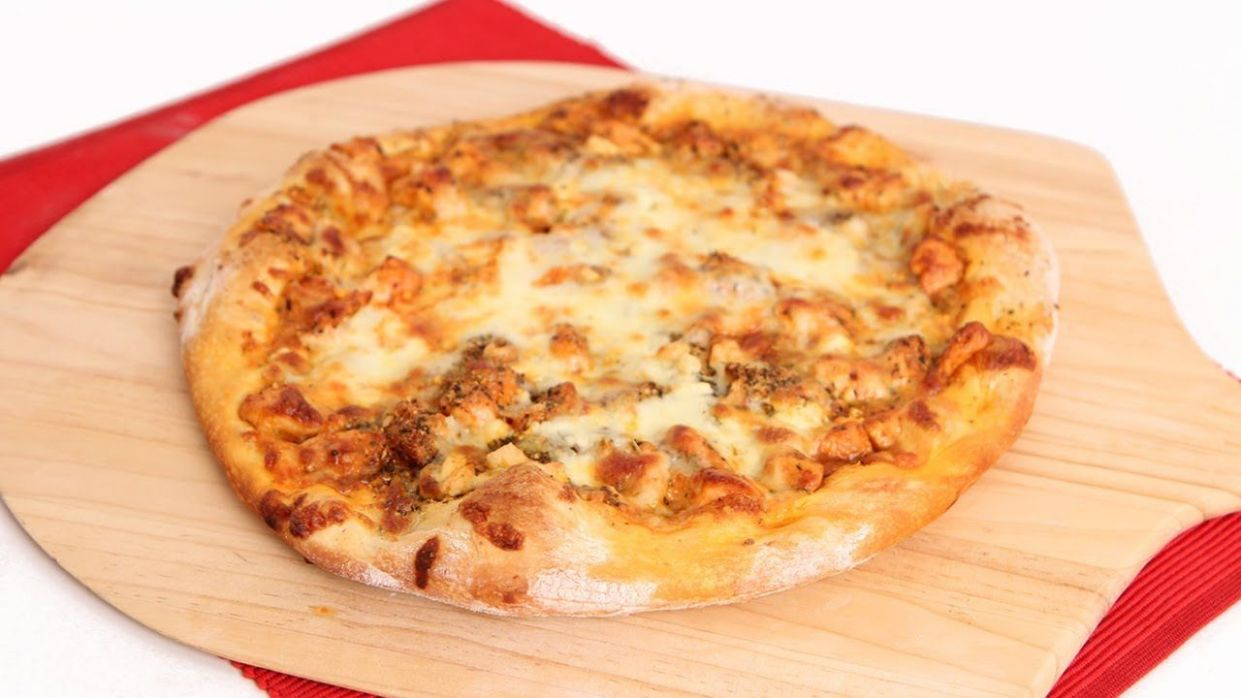 Buffalo Chicken Pizza Recipe - Laura Vitale - Laura in the Kitchen ..