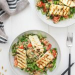Bulgur Salad With Halloumi And Lemon Caper Dressing – Recipes Fish Halloumi