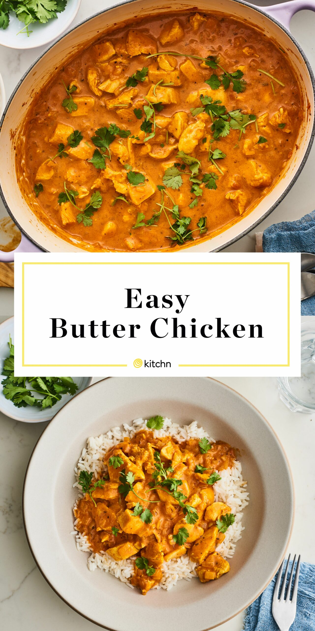 Butter Chicken - Easy Recipes With Chicken