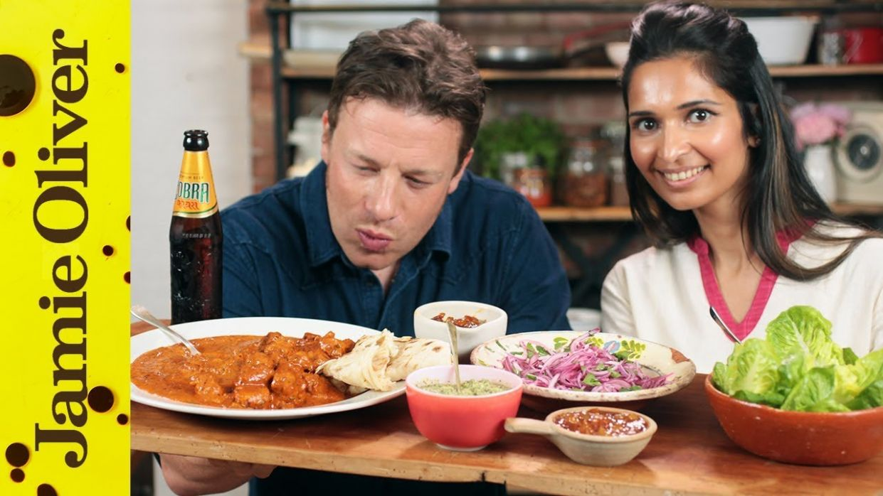 Butter Chicken Recipe | Jamie & Maunika - Food Recipes Jamie Oliver