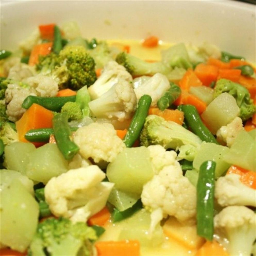 Buttered Vegetables - Vegetable Recipes Lutong Bahay