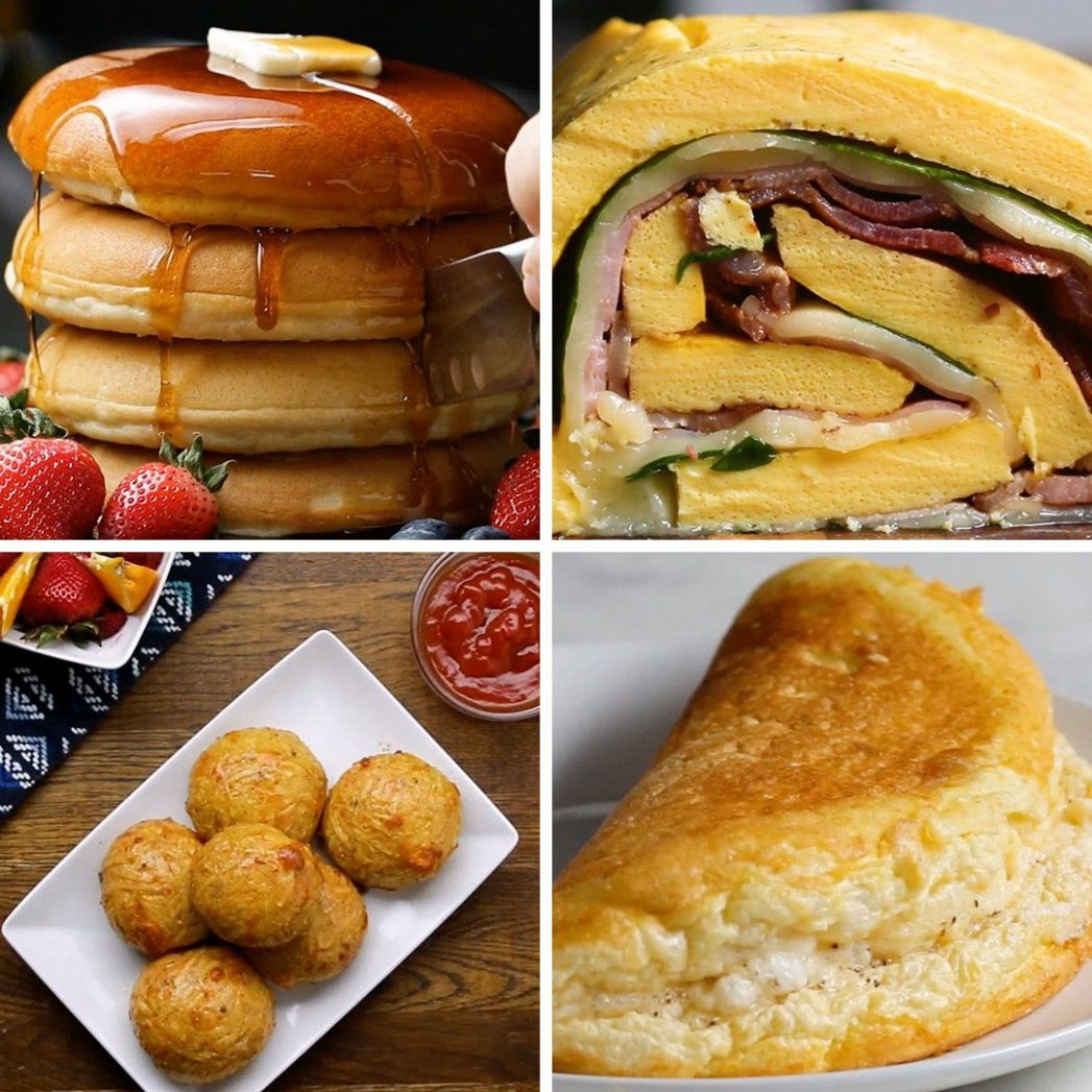 """BuzzFeed on Twitter: """"You have to try these breakfast recipes ..."""