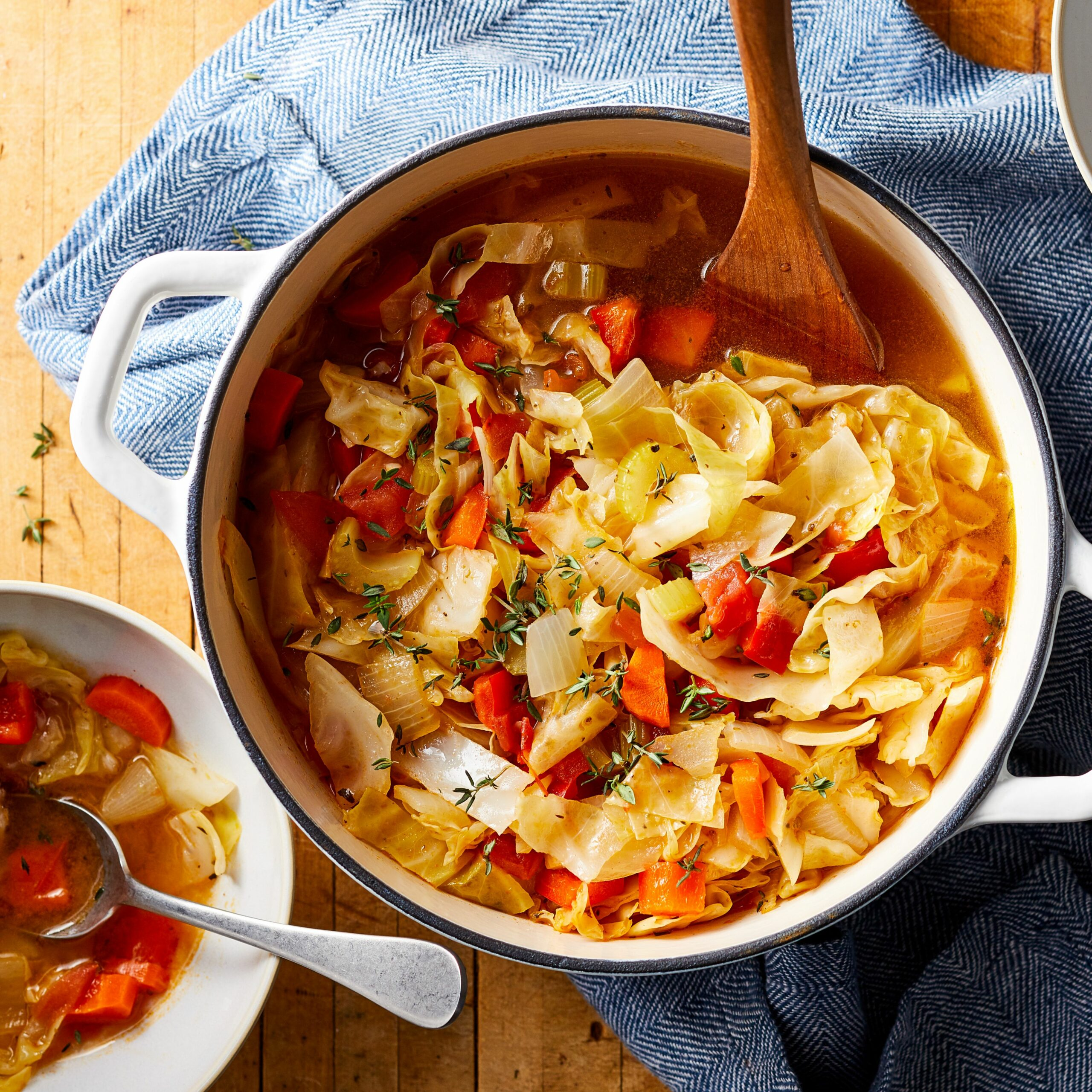 Cabbage Diet Soup - Cabbage Recipes Weight Loss Soup
