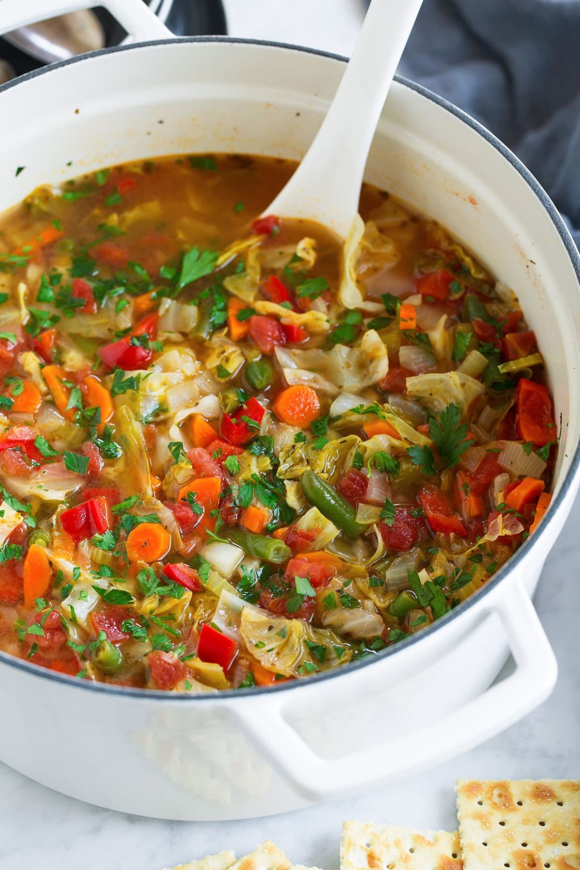 Cabbage Soup - Cabbage Recipes Weight Loss Soup