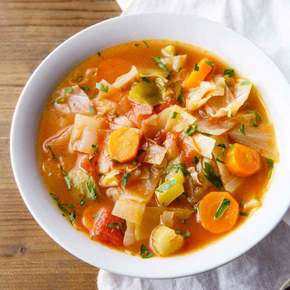 Cabbage Weight Loss Soup (Cozy, Comforting and Nutritious) - Cabbage Recipes Weight Loss Soup