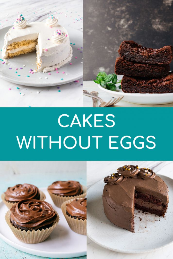 Cake Without Eggs recipe collection - Dessert for Two - Cake Recipes Without Eggs
