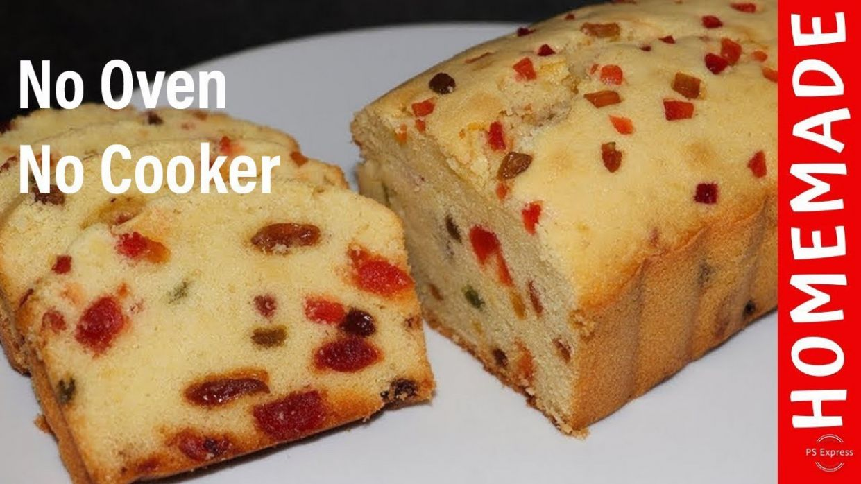 Cake Without Oven Fruit Cake Without Oven Easy Cake Recipe by (HUMA IN THE  KITCHEN) - Recipes In Urdu Cake Without Oven