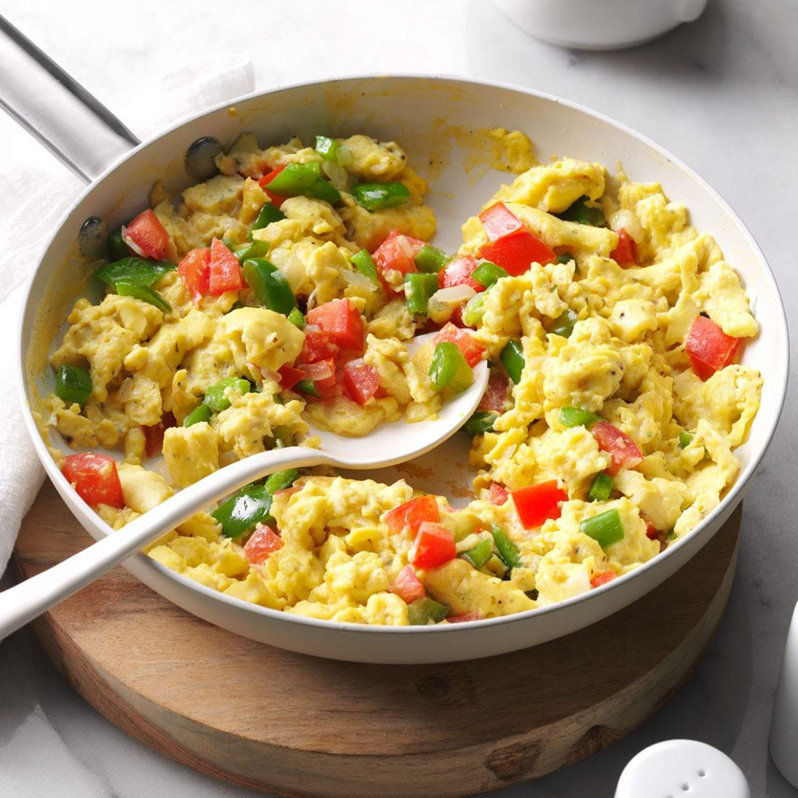 Calico Scrambled Eggs - Breakfast Recipes You Could Make With Eggs