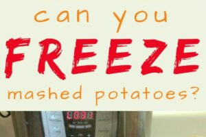Can You Freeze Mashed Potatoes? A Food Preservation Guide ...
