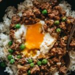 Cantonese Ground Beef Rice And Eggs (窝蛋牛肉) | Omnivore's Cookbook – Recipes Rice Mince