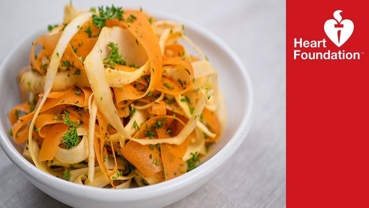 Carrot and parsnip salad recipe | Healthy recipes | Heart Foundation NZ - Healthy Recipes Heart Foundation
