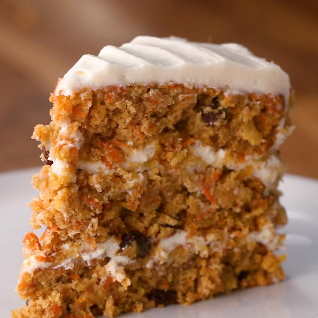 Carrot Cake Recipe by Tasty - Simple Recipes Carrot Cake