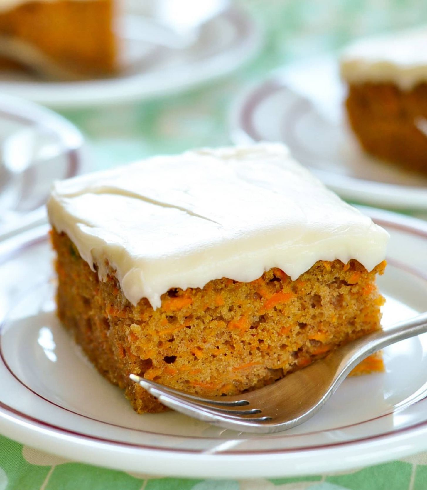 Carrot Cake with Cream Cheese Frosting - Simple Recipes Carrot Cake