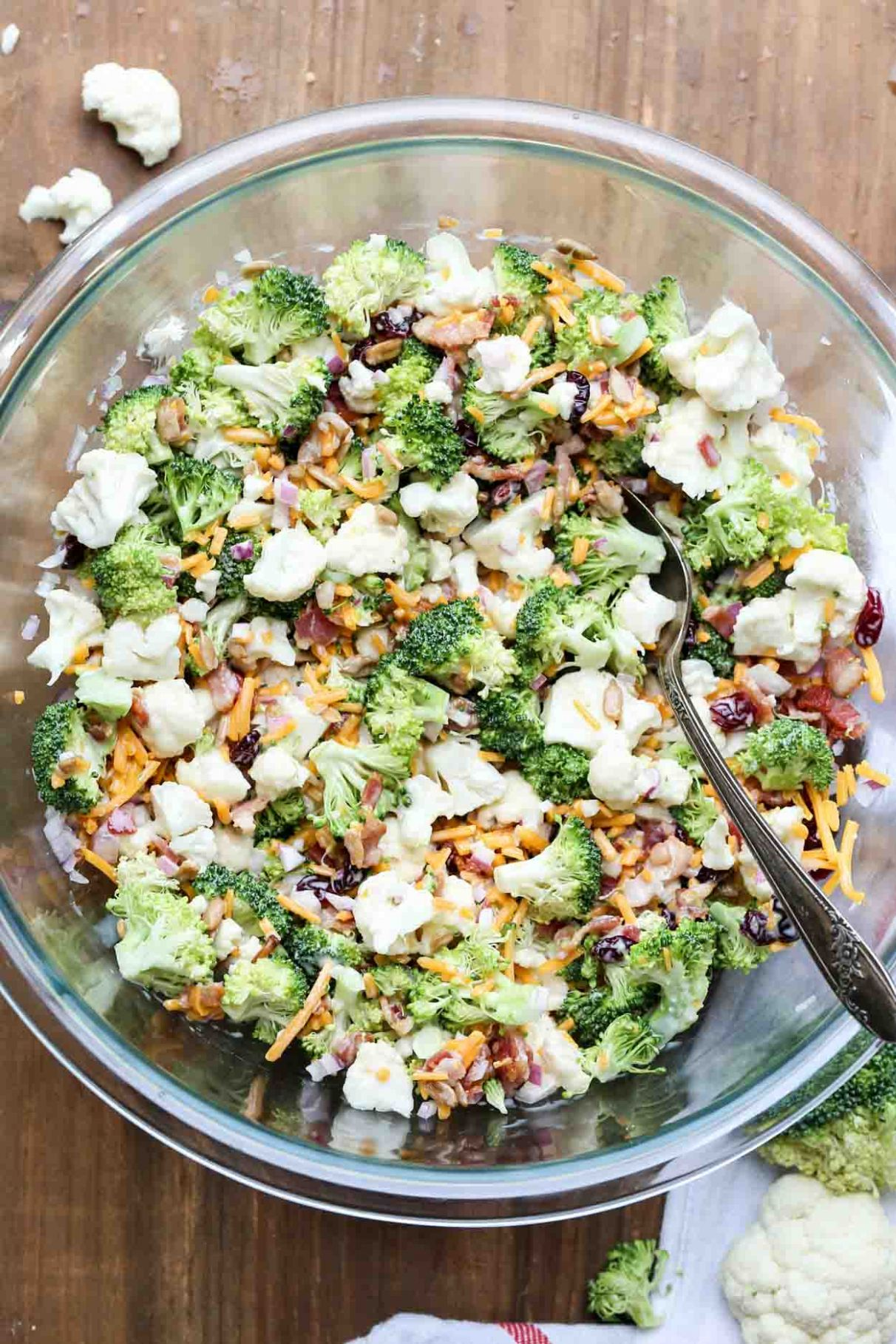 Cauliflower Broccoli Salad Recipe - Broccoli Salad Recipes Za