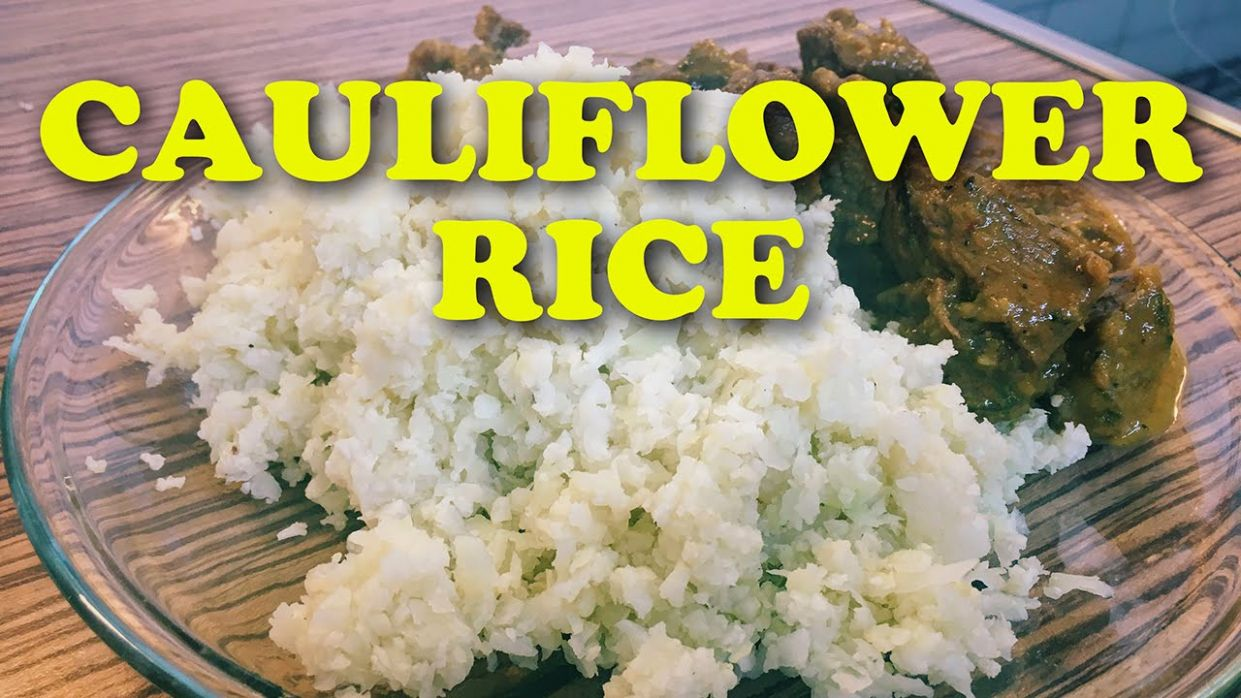 Cauliflower Rice Without Food Processor | How To Make Cauliflower Rice  Recipe - Cauliflower Rice Recipes Youtube