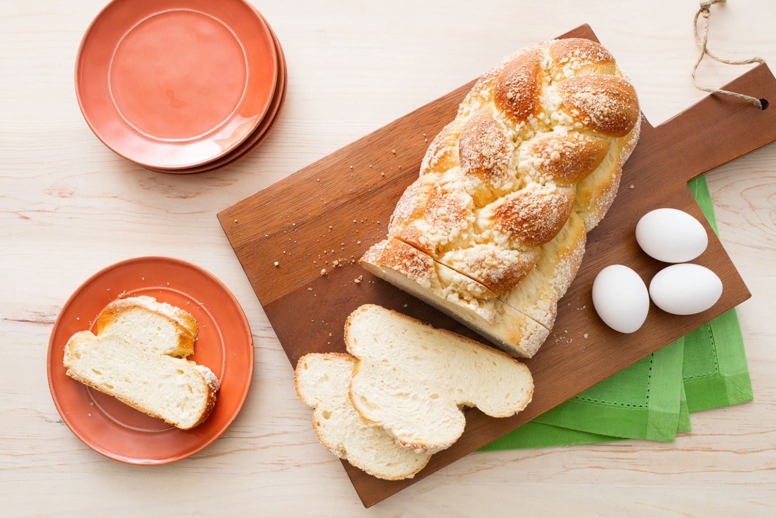 Challah (Egg Bread) - Recipe Jewish Egg Bread