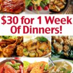 Cheap Family Dinner Ideas – $100 For 10 Week Of Dinners! – Living On ..