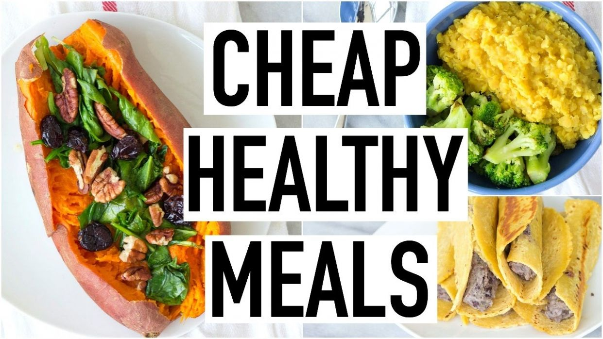 CHEAP HEALTHY MEALS UNDER $10! Healthy & Affordable Recipes! Cooking With  Liv Ep