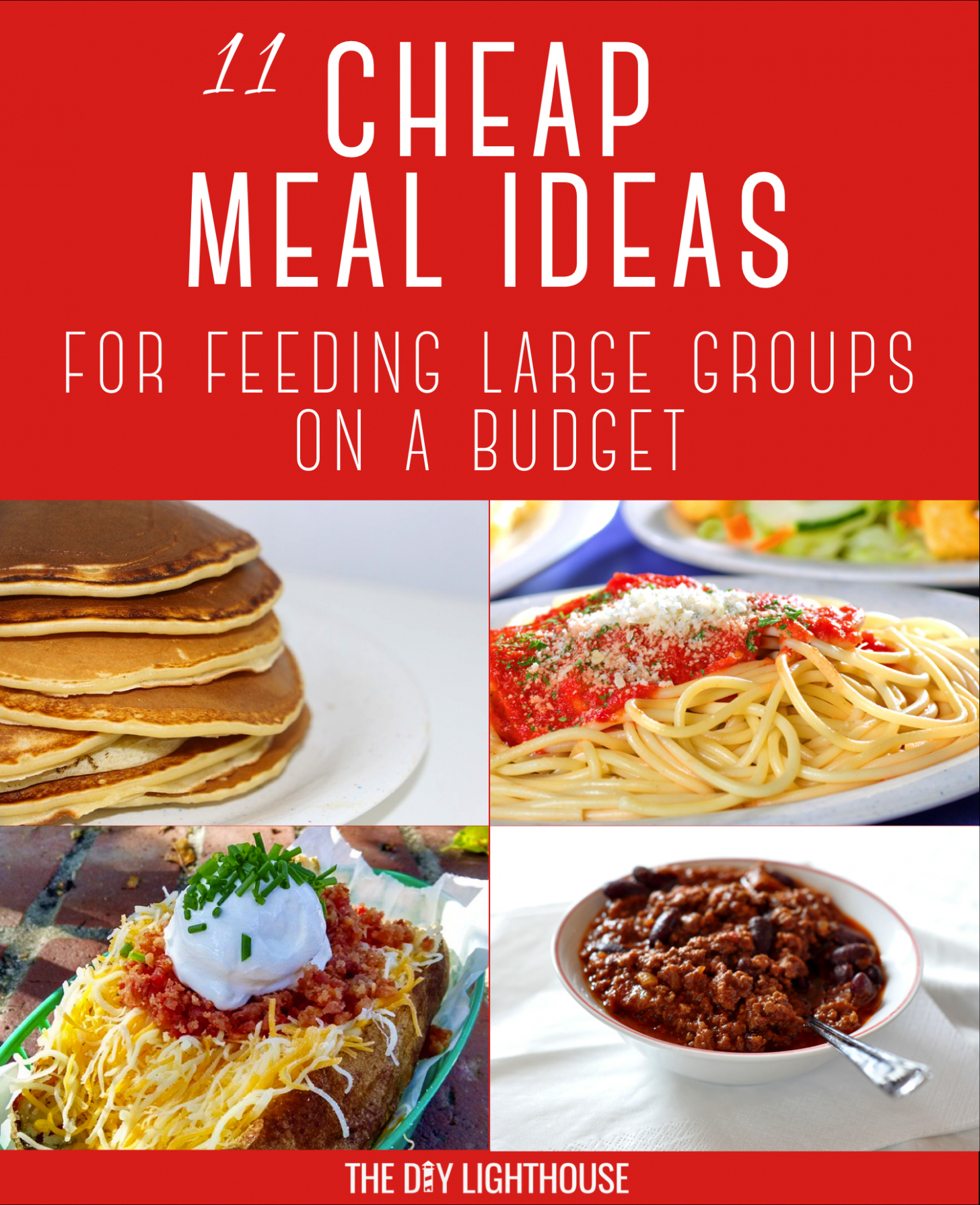 Cheap Meals for Feeding Large Groups - Easy Recipes For Large Groups