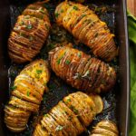 Cheese & Herb Potato Fans – Potato Recipes In Oven