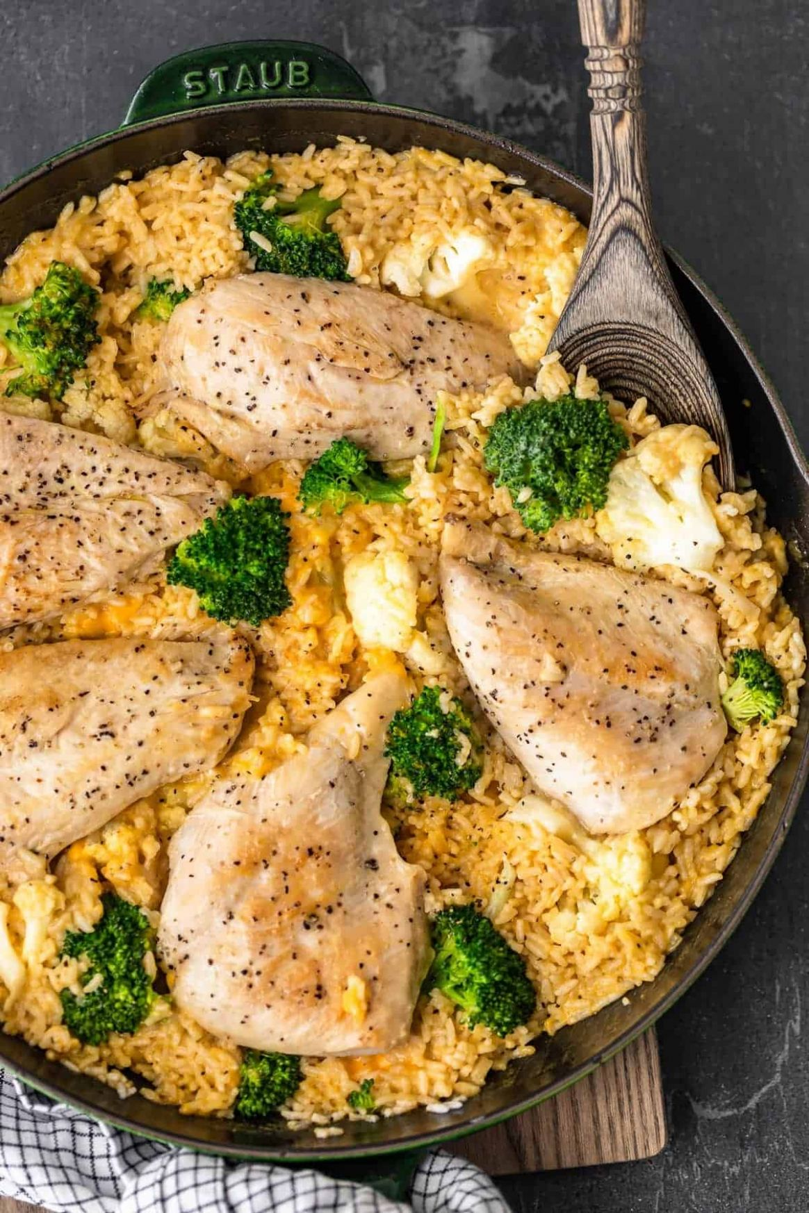 Cheesy Chicken and Broccoli Recipe