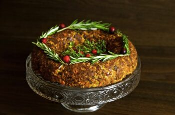Chestnut and Cashew Vegan Christmas Roast from Thinly Spread