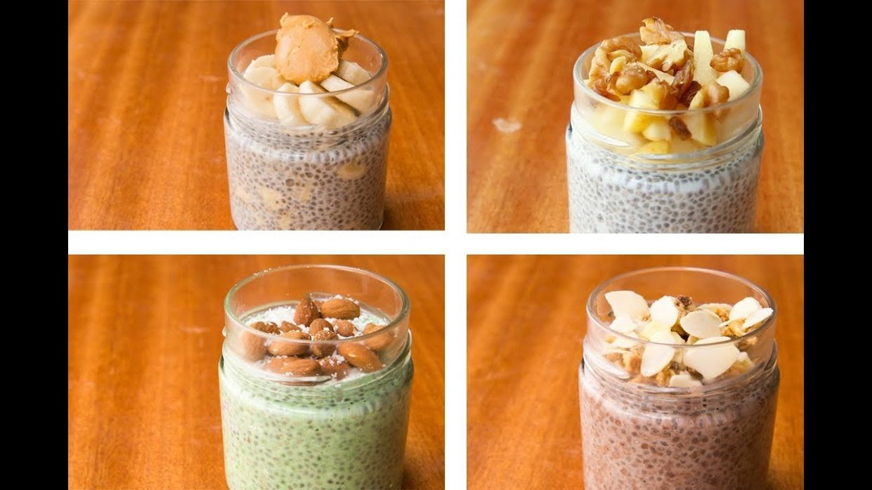 Chia Pudding Recipe 10 Ways, Chia Seeds For Weight Loss - Recipes For Weight Loss With Chia Seeds