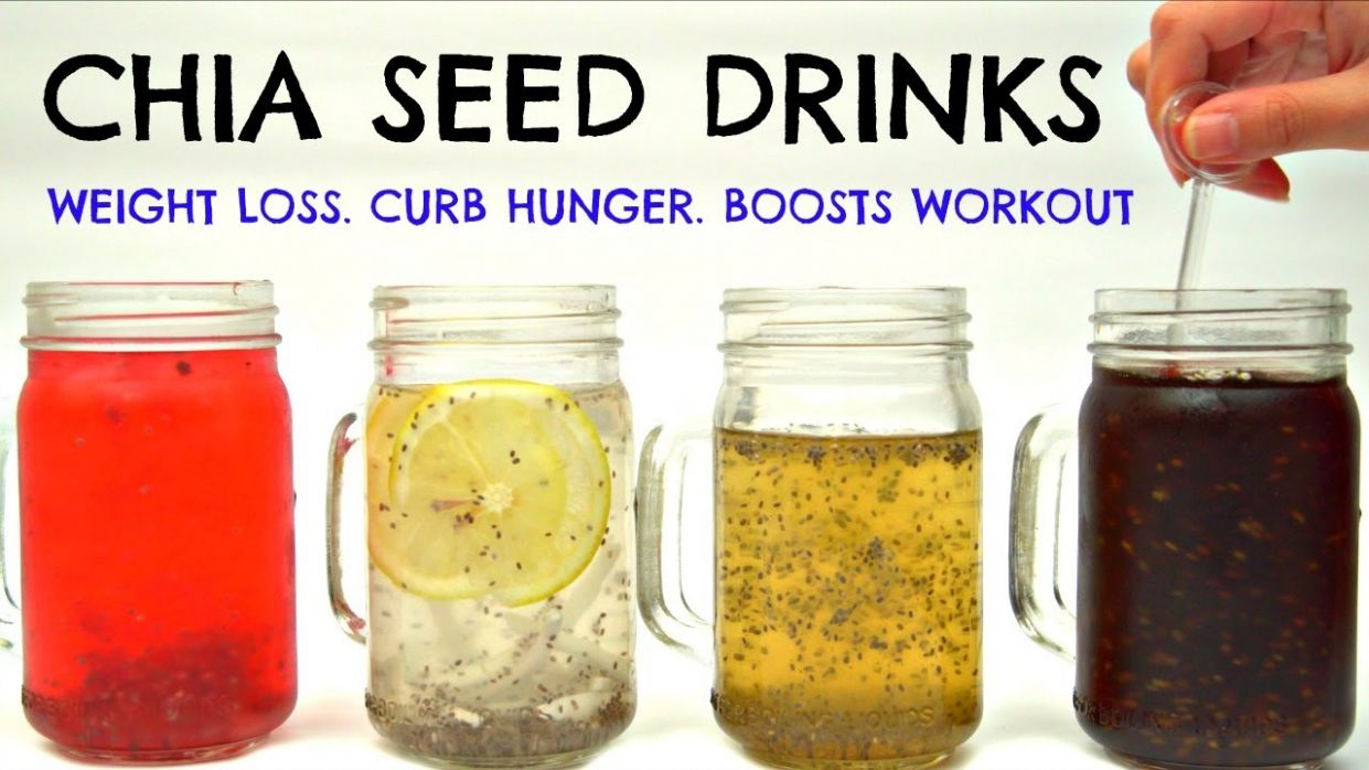 Chia Seed Drinks for Weight Loss & Curb Hunger | Joanna Soh - Recipe For Weight Loss Using Chia Seeds