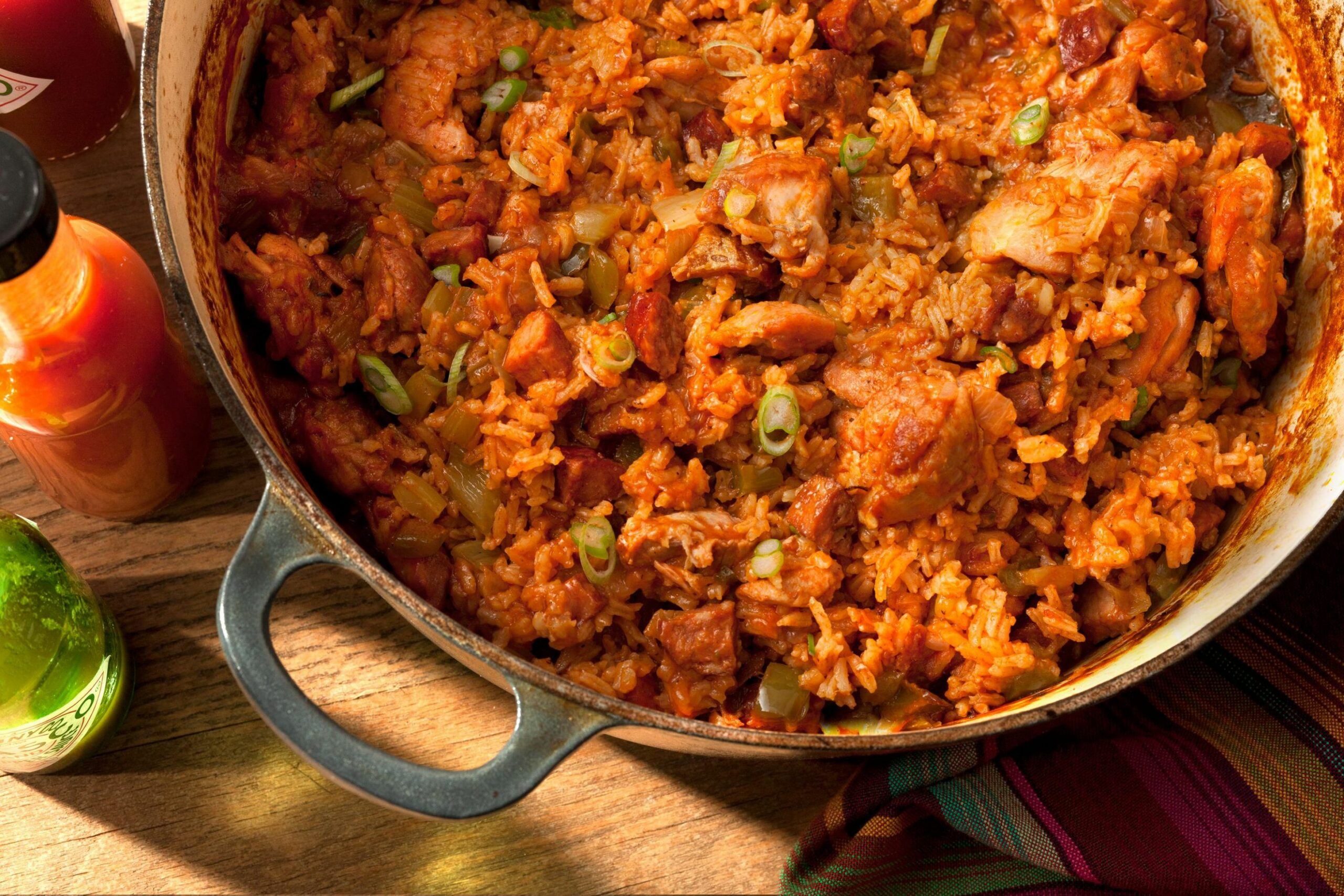 Chicken and Andouille Jambalaya - Easy Recipes Jambalaya