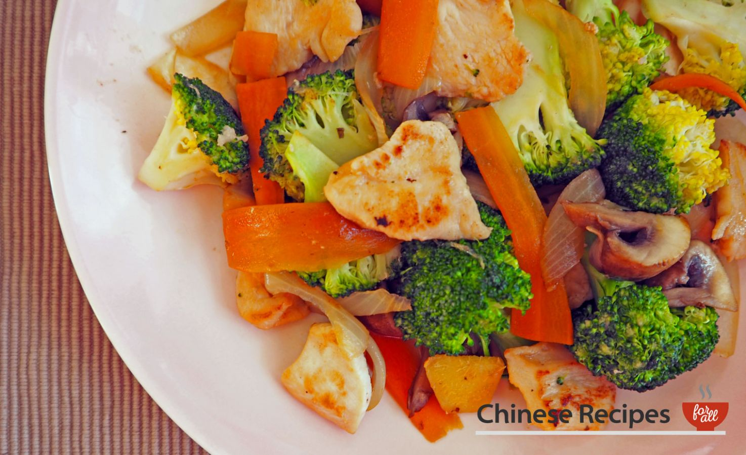 Chicken and Broccoli Vegetable Stir Fry - Vegetable Recipes Chinese