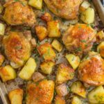 Chicken and Potatoes - 9 Ingredients Only! - Sweet and Savory Meals