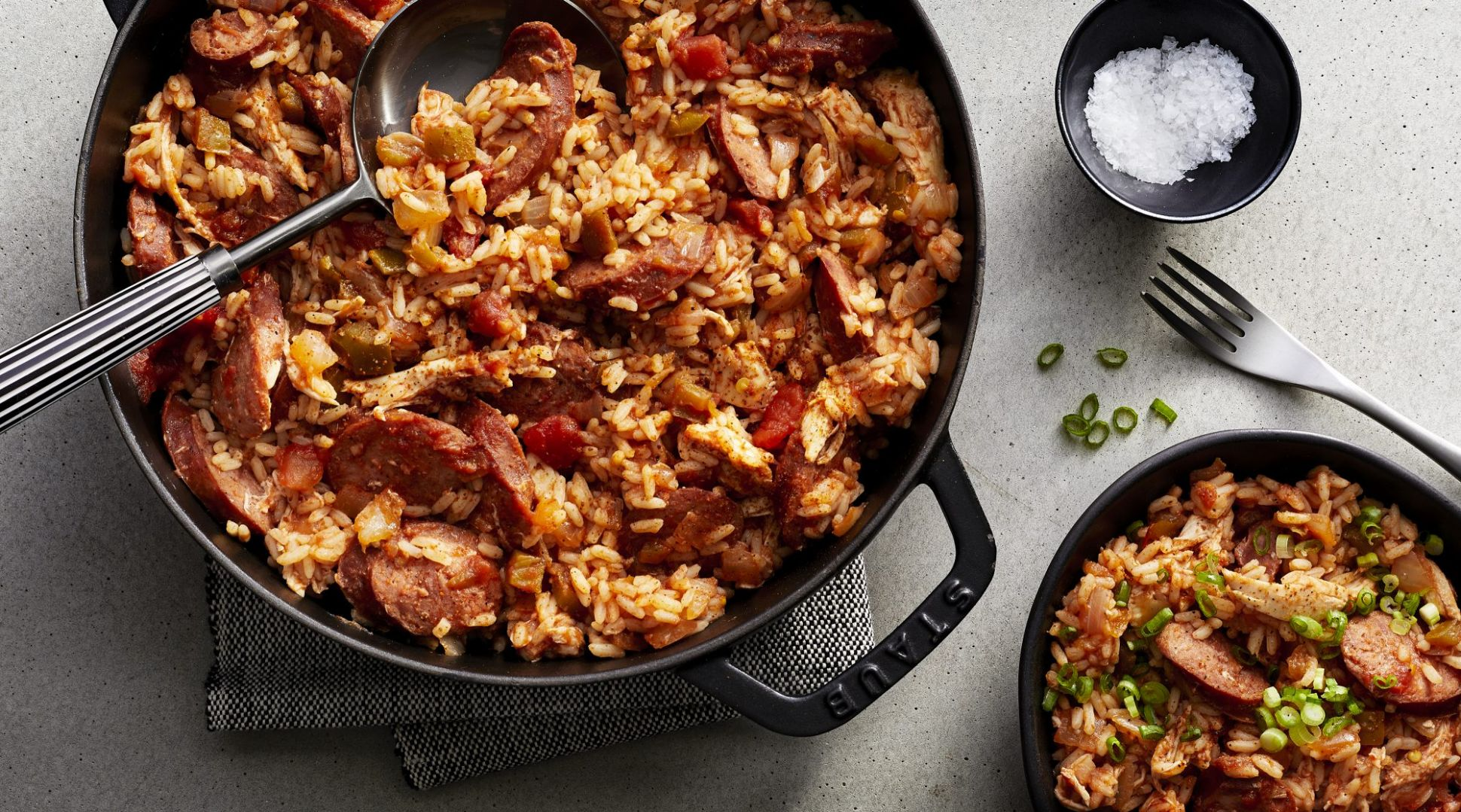 Chicken and Sausage Jambalaya - Easy Recipes Jambalaya