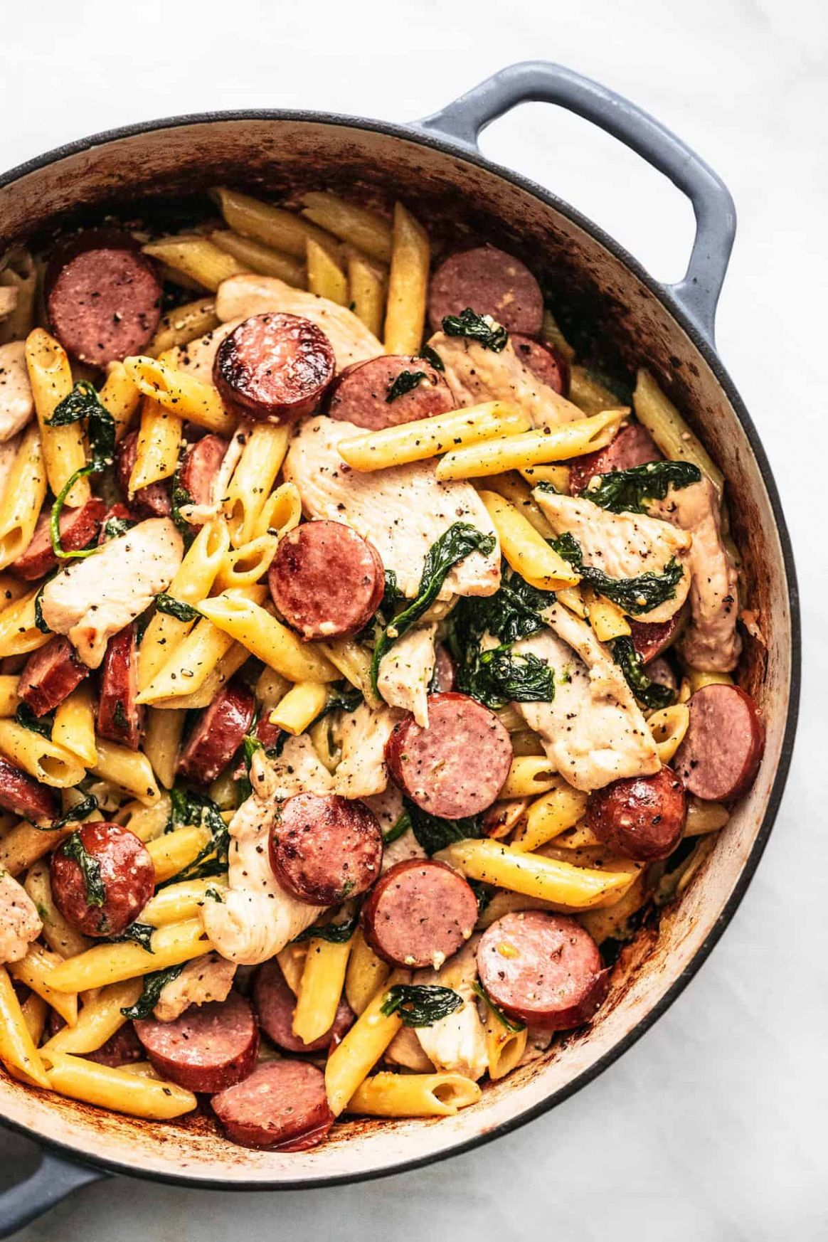 Chicken and Sausage Pasta - Recipes Chicken Sausage