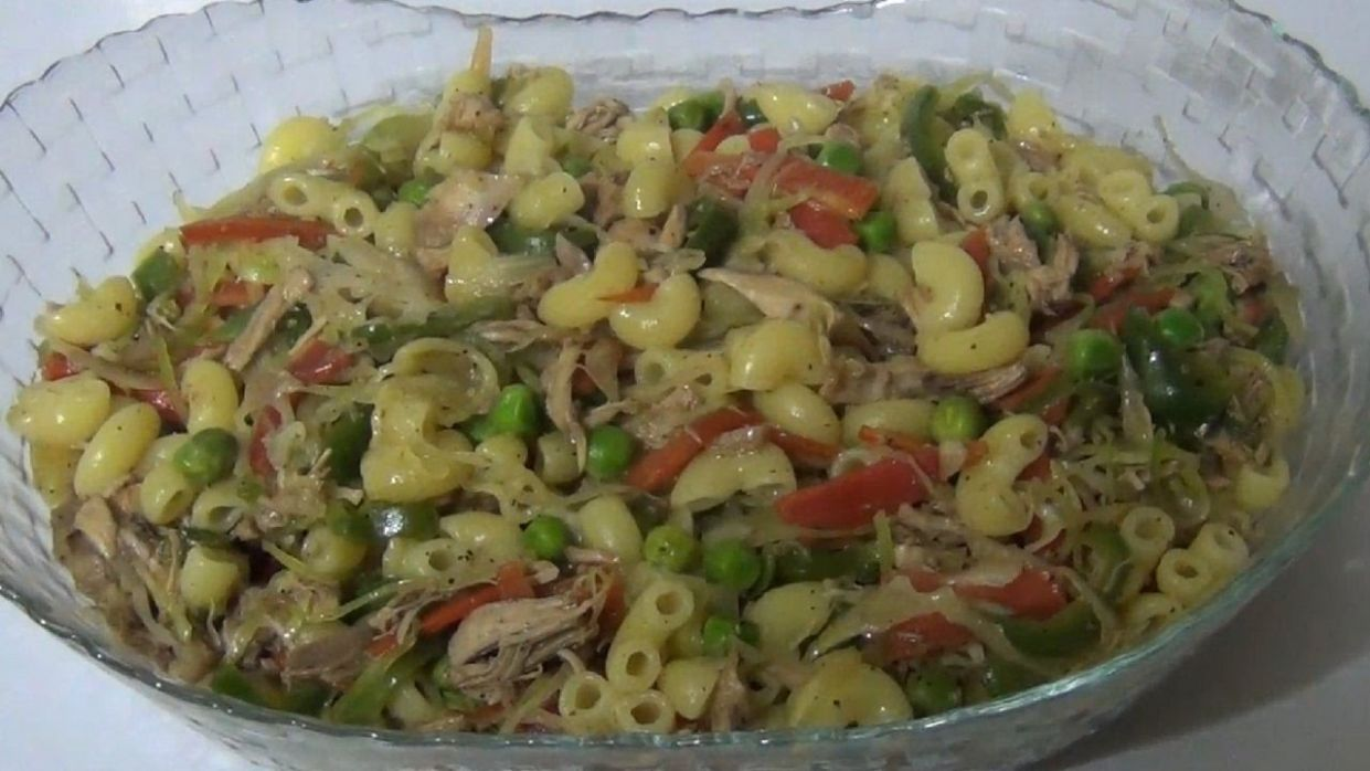 Chicken And Vegetable Macaroni Recipe By Arshad Kitchen - Pasta Recipes In Urdu Youtube