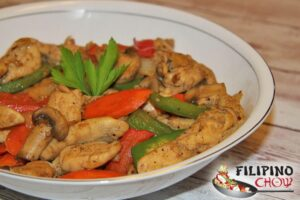 Chicken and Vegetable Stir Fry - Filipino Chow's Philippine Food ...
