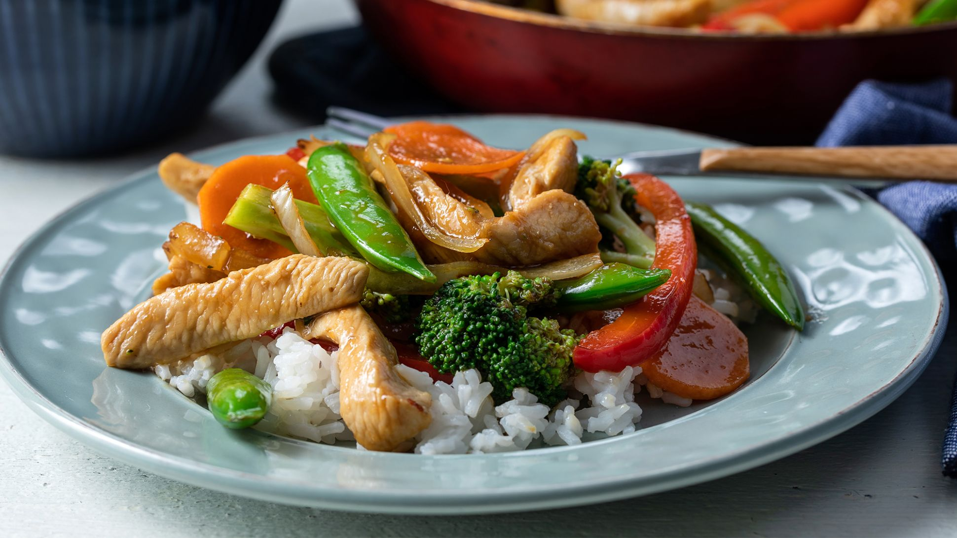 Chicken and Vegetable Stir-Fry - Recipes Chicken Vegetable Stir Fry