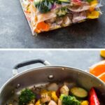 Chicken And Veggie Freezer Packs   Gimme Delicious – Vegetarian Recipes You Can Freeze