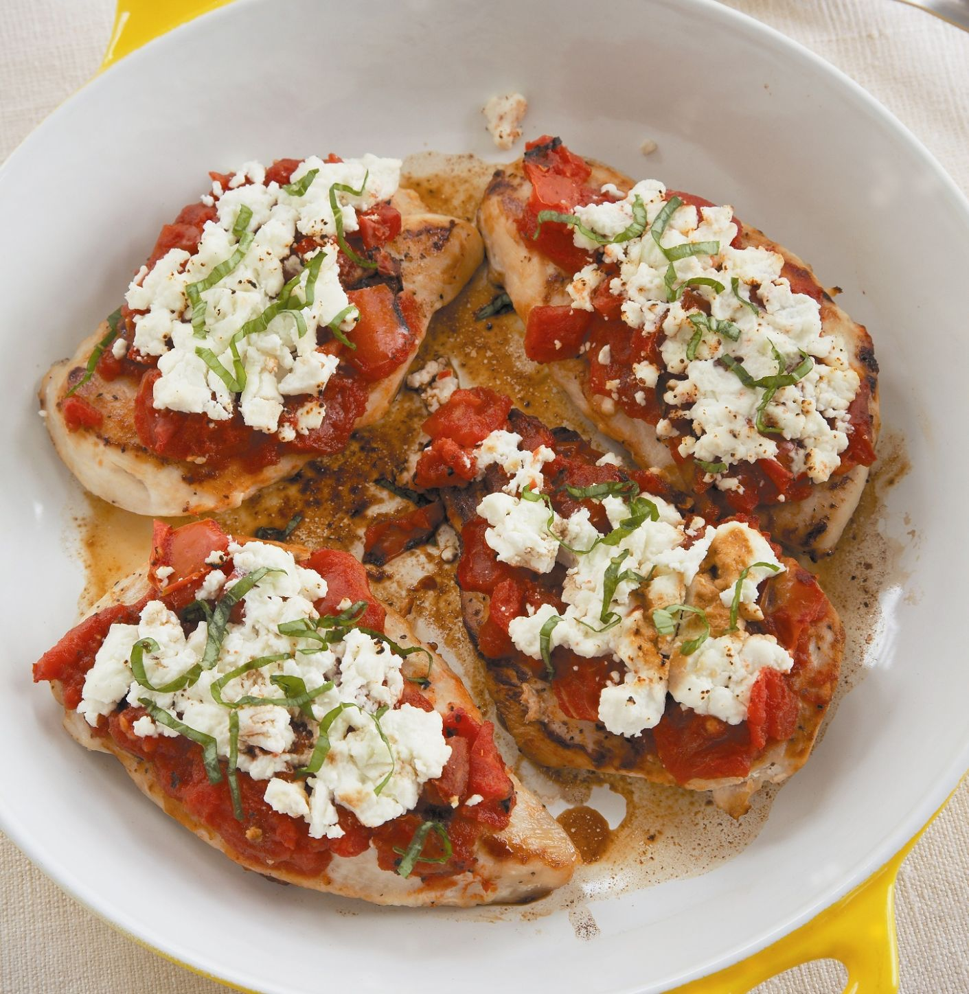 Chicken Breasts With Goat Cheese and Fire Roasted Tomatoes ...